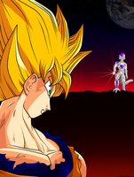 goku-ssj vs freezer by trunks887