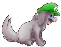 Doggy Luigi by PheonixBirdofFIre46