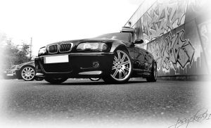 BMW m3 coupe et cab   .... by psycko91
