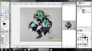 Ghostrick Ghoul Process by PlayboyVampire