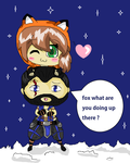 Me And Sub-zero Chibi by jason-the-13th