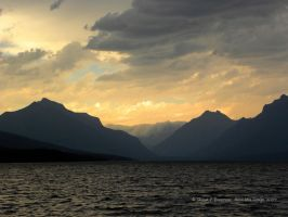 Lake McDonald Evening by Dreamz-of-Twilight