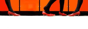 My red dancing shoes by xemotearzx