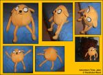 Plushie - Jake the Dog by Gomis