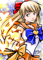 Sailor Venus by Famove