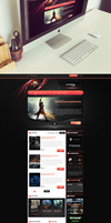 Evolution GamerZ by trkwebdesign