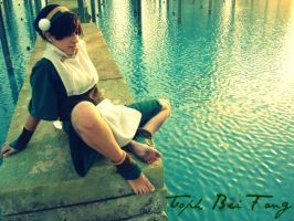 Toph Bei Fong by zeldalilly