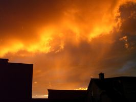 Golden Skies by JuliaNeedsLove