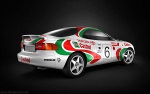 Toyota Celica WRC by STH-pl