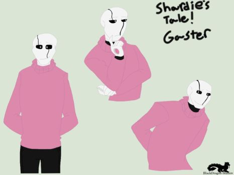 Challenge: Pink Sweater Gaster by BlackDragon-Studios