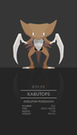 Kabutops by WEAPONIX