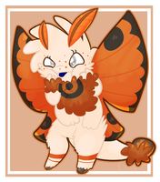 Fluffy Dorito by CosmicDiamond