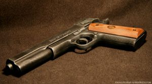 Custom Colt 1911 Gun Prop by JohnsonArms