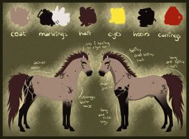 Ref Sheet - Torin by Rorelse