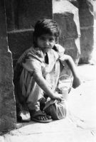 Child in India by balibob