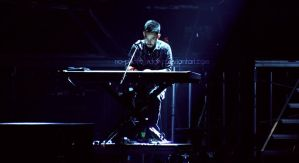 Linkin Park live in Macau:Mike by no-photography