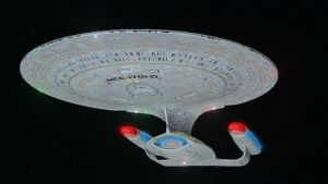 WileyCoyote's Enterprise-D by enterprisedavid