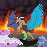 Fight with Discord STILL A WIP by EonShinato
