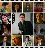 James McAvoy's movies by Negas88