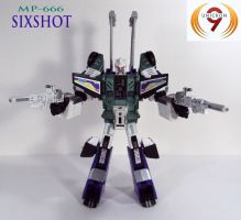 MP-666 Sixshot by Unicron9