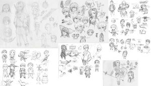sketch compilation by Kevichan