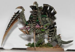 Hive Fleet Apophis Carnifex by Airesyll