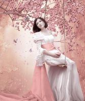 Sakura Spring by SharonLeggDigitalArt