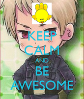 keep calm and be awesome by lisabean