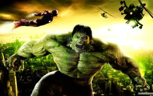 Hulk Wallpapers New movies poster by sheroshah