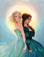 Aelin and Lysandra by may12324