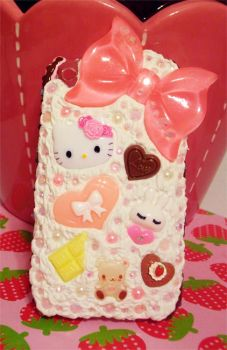 Decoden cellphone case by pinkDudu
