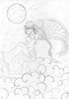 Lonely Angel by DaQiao