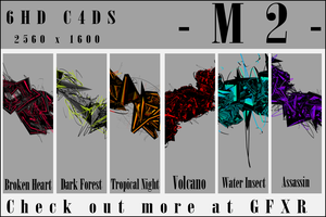 -M2- HD C4D Pack 4 by mmaatt2