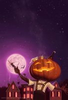 The Drunken Pumpkin by JakeMurray