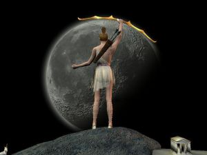 Artemis - Moon Pose