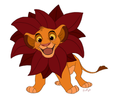 Simba by sketchinthoughts