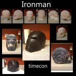 Ironman helmet sculpt by TIMECON
