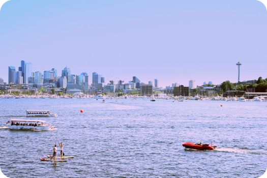Seattle's Water Traffic by rstephens12