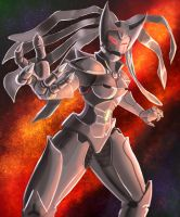 Lady Ultron by NMac1983 by singory