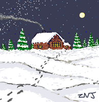 Winter for Draw Something by zachjacobs