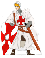 Request:  Knight Templar Ichigo by RomaniaBlack
