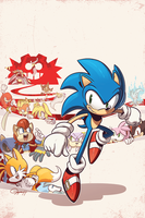 Sonic the Hedgehog #258 by tysonhesse