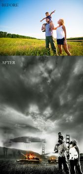 Before and after- Survivor by jaggu79
