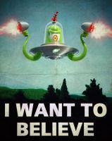 I want to believe... by 7kive