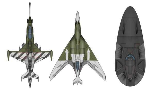 Commission: DHR combat aircraft by VoughtVindicator