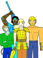 Exalted Group in color by lundi