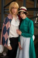 Howls Moving Castle @ LFCC 2013 by faramon