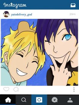 Instagram YATO by Dai55-chan