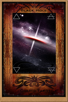 0 - Black Hole - Cosmic Tarot by RazielMB