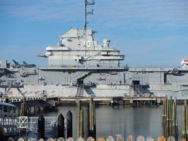 USS Yorktown middle view of ship showing top by eeyorefan